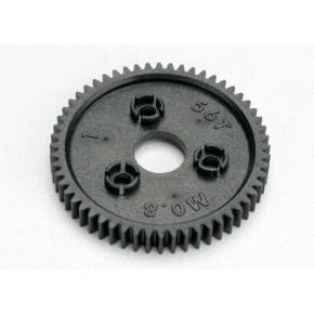 Spur gear, 56-tooth (0.8 metric pitch)