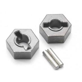 Wheel hubs, hex (steel)