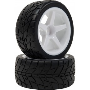 Neumáticos con llanta 1/10...