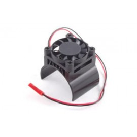 FASTRAX 1/10  ALUMINIUM MOTOR HEATSINK FAN UNIT (fan on top)