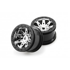 2.2 Raceline Renegade Wheels - 41mm Wide (Chrome) (2pcs)