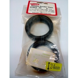 Pit Shimizu D30 Slick Tyre 24mm (pair)