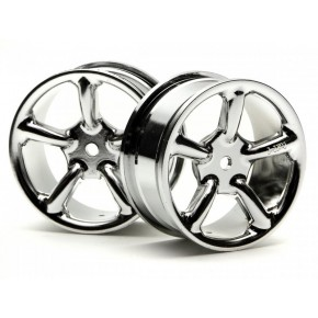 TYPE R5 WHEEL 24mm CHROME