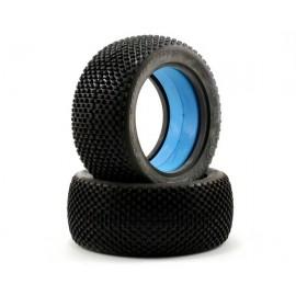 Neumáticos 1/8 Truck/Truggy azul blando (3.7) - Cross Hairs
