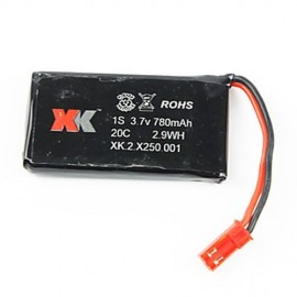 XK INNOVATIONS XK250 LIPO BATTERY 780MAH 3.7V
