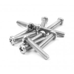 SCREW PHILLIPS M2.5x20 (10)