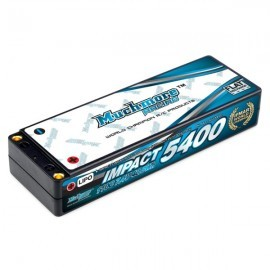 IMPACT Linear FD2 Li-Po Battery 5400mAh/7.4V 110C Flat Hard Case