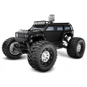 COCHE K-ROCK RTR, NEGRO 1/8 MONSTER TRUCK ELECTRICO