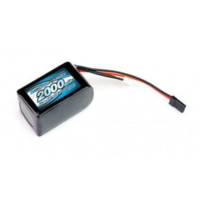 IMPACT Li-Po Battery 2000mAh/7.4V 4C Hmp Size for Receiver