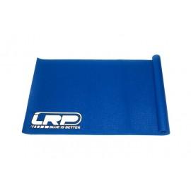 Alfombrilla de trabajo LRP de goma  Azul 122x61cm