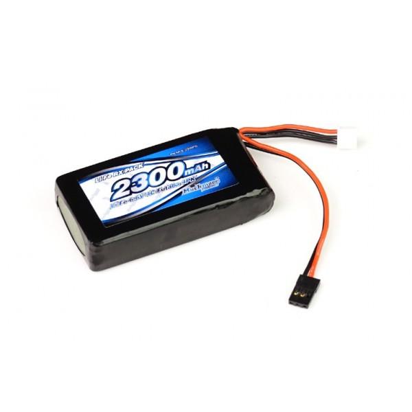 IMPACT Li-Fe Battery 2300mAh/6.6V 4C Tx for Futaba 4PK