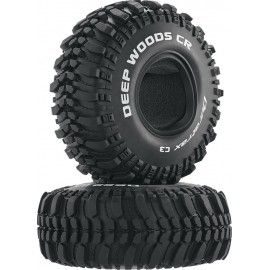 "1.9"" Deep Woods CR Tire (2) C3 1/10"