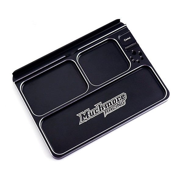 Luxury Aluminum Part Tray 3 Black