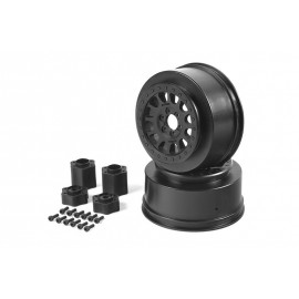 2.2 3.0 Method 105 Wheels  41mm (Black) (2pcs)