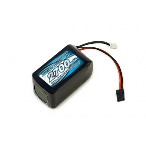 IMPACT Li-Po Battery 2700mAh/7.4V 4C Hmp Size for Receiver