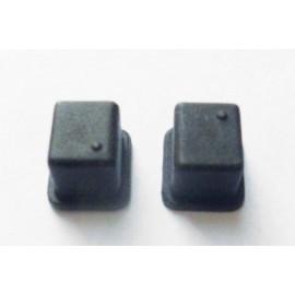 Casquillos soporte ejes susp.del.alu.frontal (2pzs) S8 NXR
