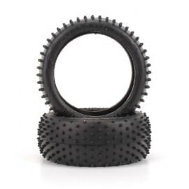 Mini Spike 1/8th Tyre  Yellow  (pr)