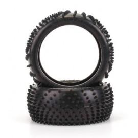 SPIRAL 1/8th Tyre  Yellow  (pr)