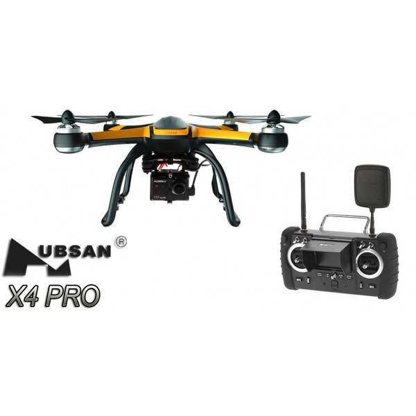 HUBSAN X4 PRO LOW EDITION FPV w/1080P, 1-AXIS GIMBAL