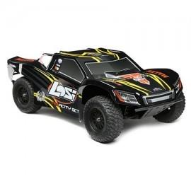 Coche Losi TENACITY SCT RTR, AVC 1/10 4WD BLACK/YELLOW