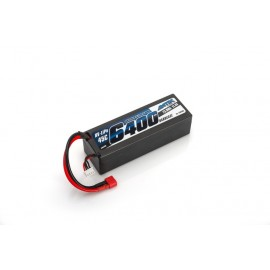 Batería 11.4V-6400 mAh GRAFENO LiHV LiPo 45C c.dura
