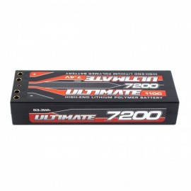 BATERIA ULTIMATE LIPO STICK 7,4v. 7200 mAh 110C DOBLE CONEXIÓN 4mm