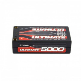 BATERIA ULTIMATE LIPO SHORTY 7.4v. 5000 mAh 110C CONEXIÓN 5mm