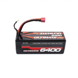 BATERIA ULTIMATE LIPO STICK 14.8v. 6400 mAh 100C CONEXIÓN 5mm