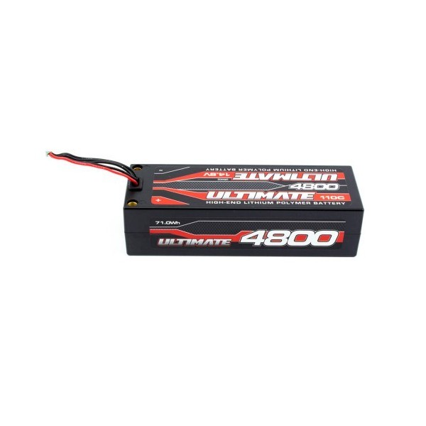 BATERIA ULTIMATE LIPO STICK 14.8v. 4800 mAh 110C CONEXIÓN 5mm
