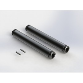 Arrma Slider Driveshaft 80mm Gun Metal Big Rock - 2 pcs