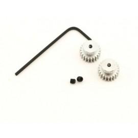 Losi 22T Pinion Gear (2), 370 Motor (MLST/2)