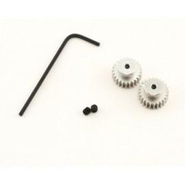 Losi 24T Pinion Gear (2), 370 Motor (MLST/2)