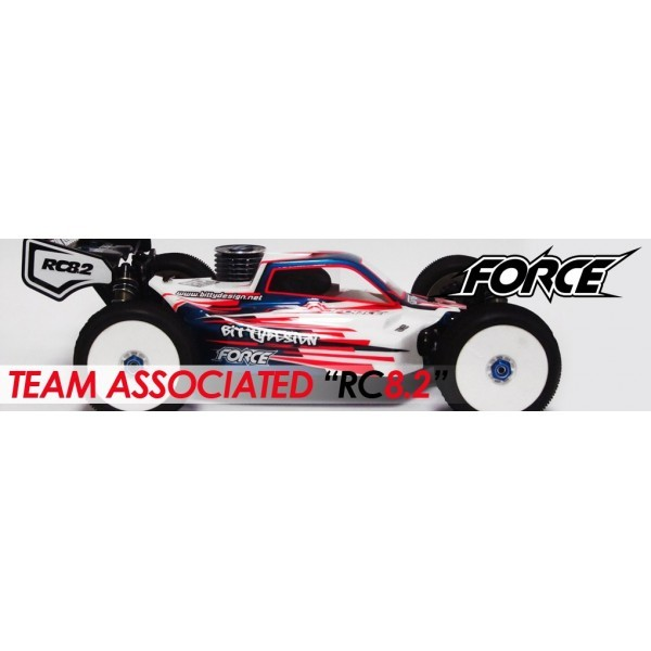 CARROCERIA ASSOCIATED RC8.2  FORCE BUGGY
