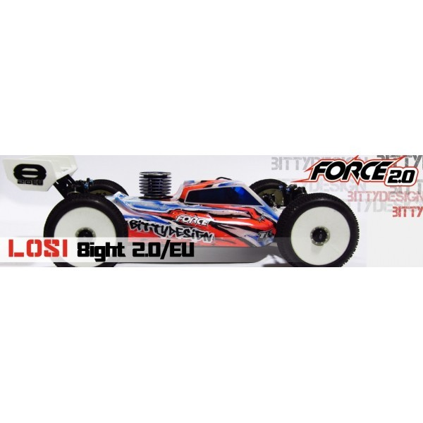 CARROCERIA LOSI 8IGHT 2.0 EU FORCE BUGGY