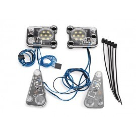 LED headlight/tail light kit (fits TRX8011 body, req. TRX8028)