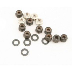 Losi Nut & Washer Set (MLST/2)