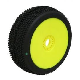 Road Runner Buggy Verde en Llanta Amarilla (Blando) (2u.)