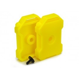 Fuel canisters (YELLOW) (2) TRX4