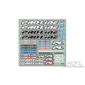 PROLINE TEAM DECAL (B&W)