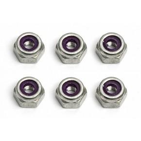 Locknuts, 10-32, aluminum