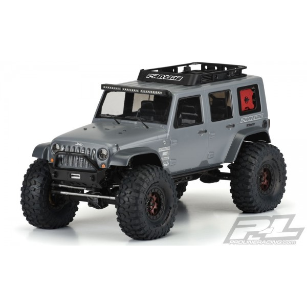 PROLINE JEEP WRANGLER RUBICON UNLIMITED CLEAR BODY 313MM W/B