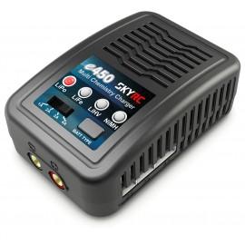 Cargador SkyRC e450 AC NiMh 6-8 LiPo 2-4s 1-4A 50W