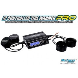 IC Controlled Tire Warmer Platinum  (Black LCD)