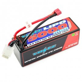 VOLTZ 4500mah HARD CASE 7.4V	50C LIPO SADDLE PACK