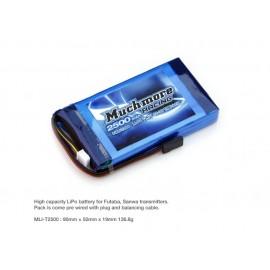 Much More LiPo Tx Battery 2500mAh 11.1V (Futaba, Sanwa)