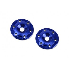 Finnisher 1/8th Wing Button aluminiun blue