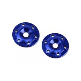 Finnisher 1/8th Wing Button aluminiun blue