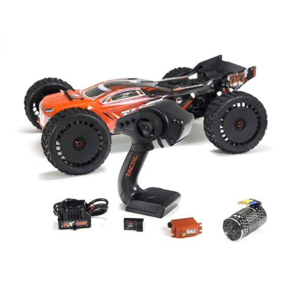 Arrma Talion 6S BLX 4WD 1/8 Truggy RTR no batteries, no charger Red/Black