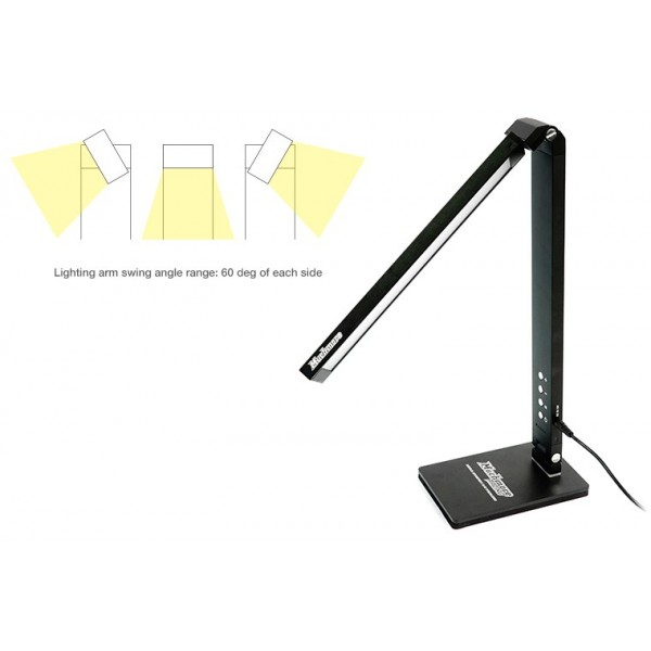 LED Pit Light Stand Pro Black