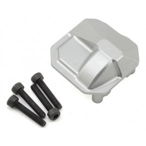 HD Diff Cover for SCX10 II (Silver)